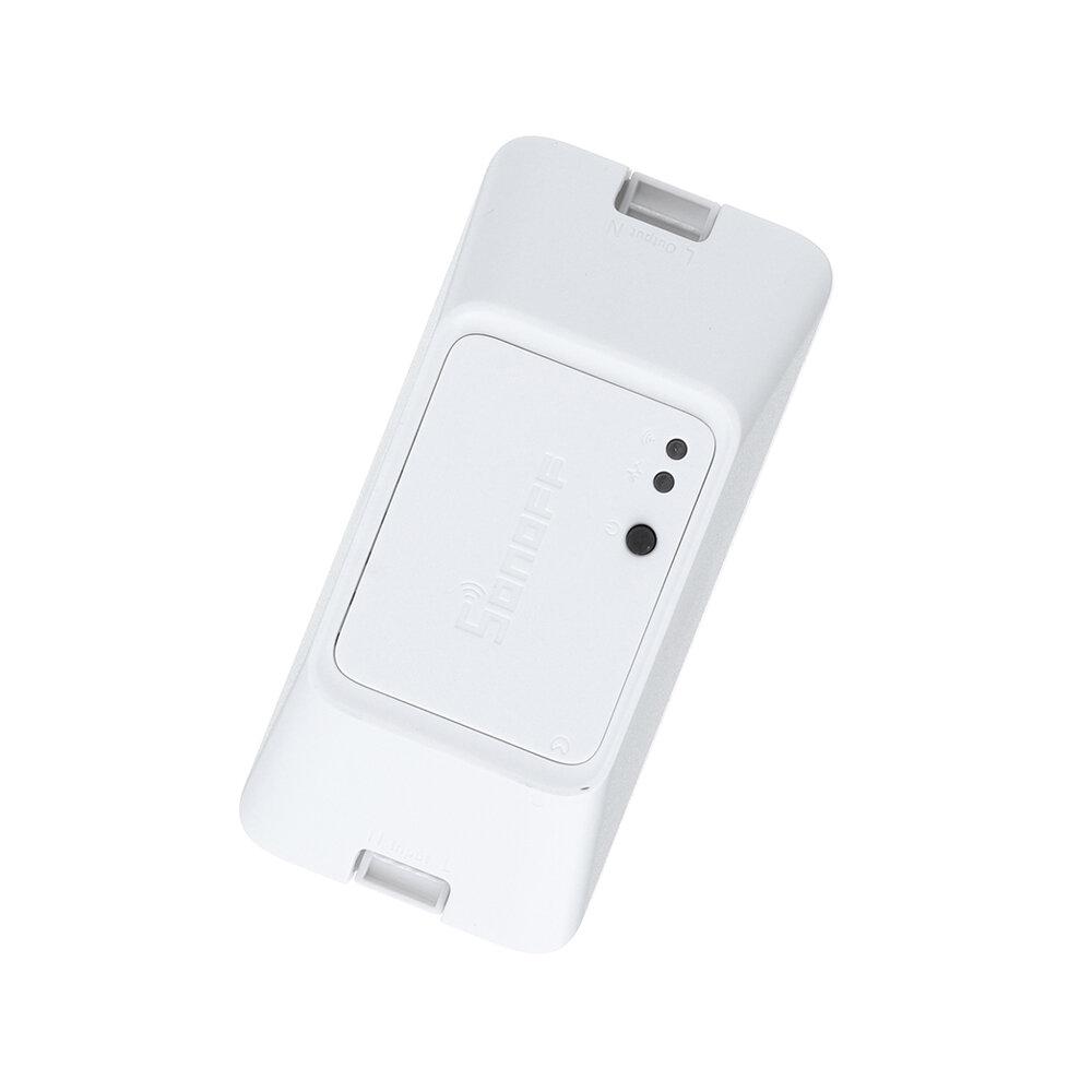 SONOFF® BASIC R3 10A 2200W Smart ON / OFF WIFI Interruttore wireless Timer luce Supporto Modalità DIY APP / LAN / Voice remoto Controllo BASICR3 Funziona con Amazon Alexa Assistente Nest casa Google IFTTT - 1