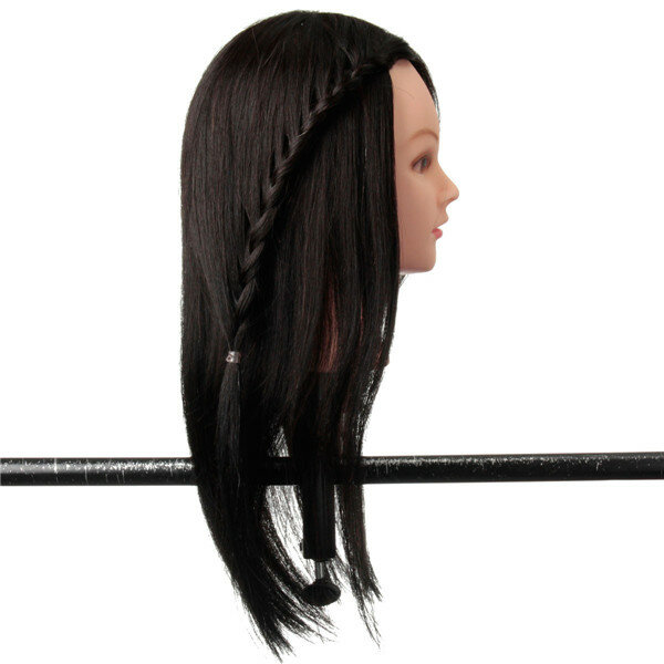 Adjustable Wig Head Tripod Stand Holder for Hairdressing Training Mannequin Practice - 5