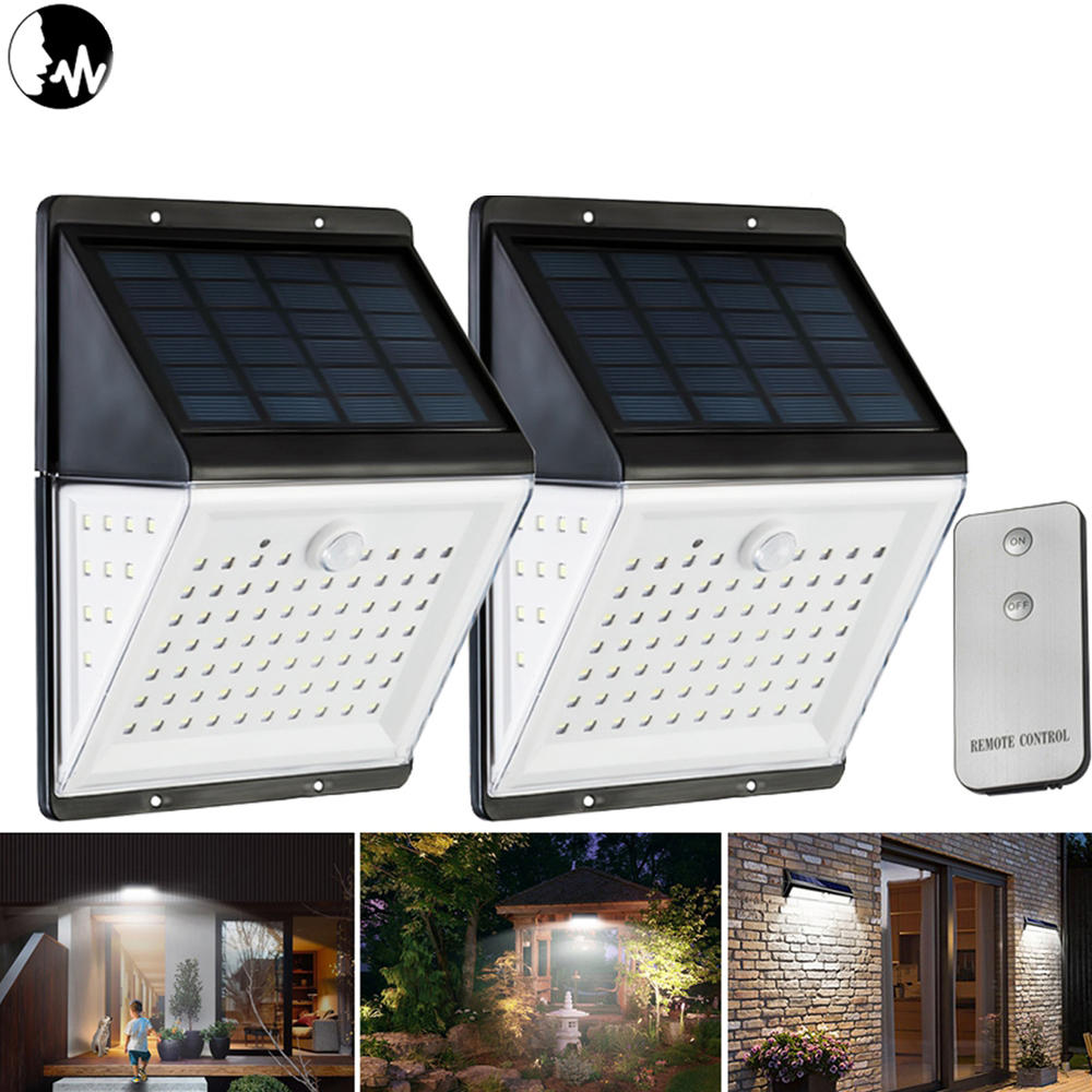 88 Led Solar Power Motion Sensor Light Voice Remote Control Garden Security Outdoor Yard Wall Lamp Sale Banggood Com Arrival Notice Arrival Notice