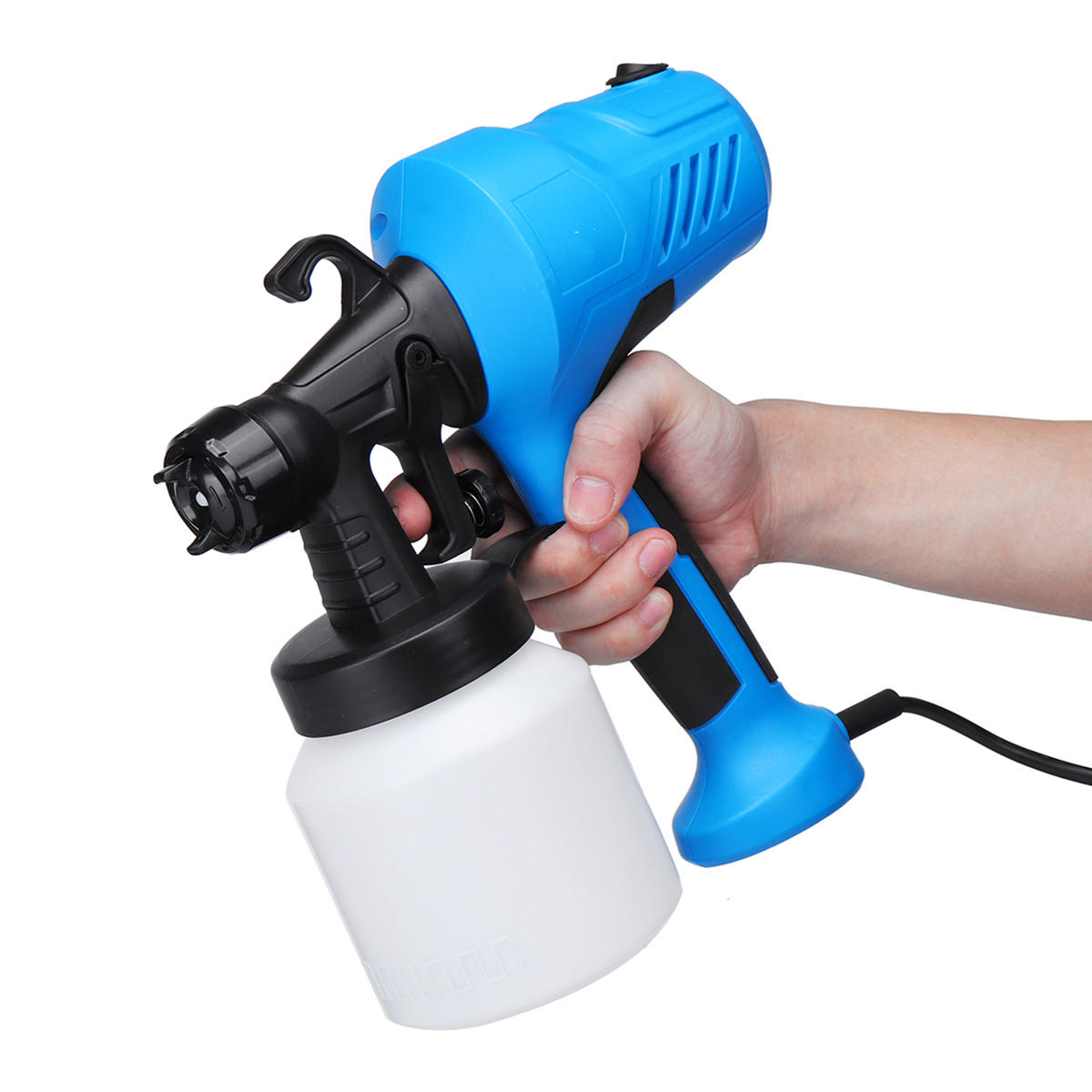 600CC 1.4mm HVLP Air Spray Gun Tool Automotive Shop Painting Tools with Gauge - 9
