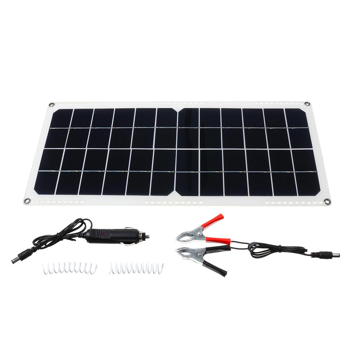 10W Monocrystalline Solar Panel DIY Solar Powered Panel With 2 Connectors(