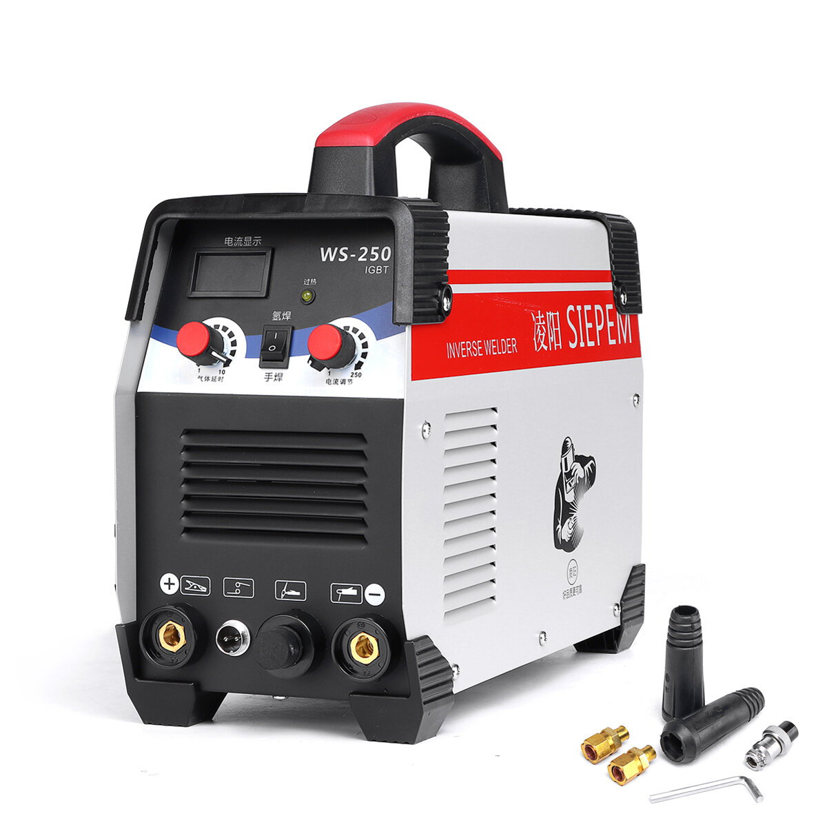 Ws 250 250a 220v Arc Tig 2 In 1 Welding Machine Portable Igbt Inverter Weilding Tools Sale Banggood Com Arrival Notice Arrival Notice