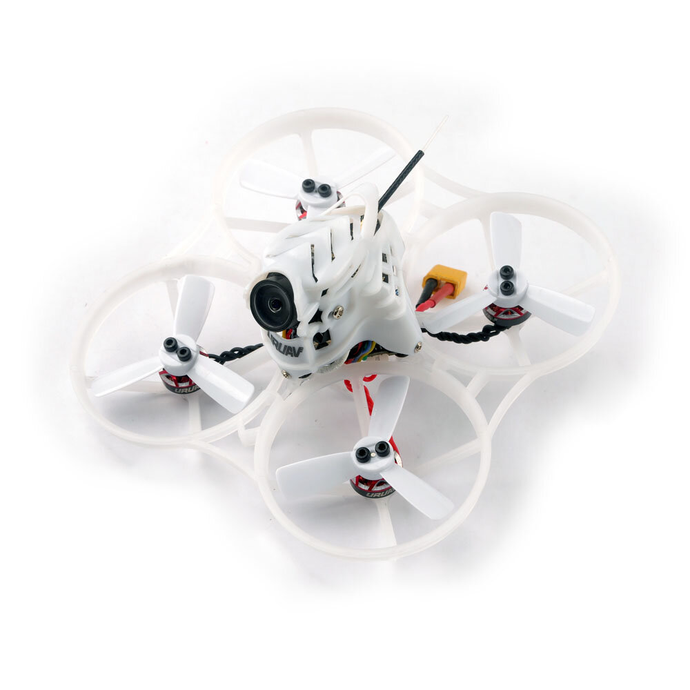 URUAV UR85 / UR85HD BUSHIDO 85mm Crazybee F4 PRO 2-3S Whoop Cinewhoop FPV Racing Drone OSD 5.8G 25~200mW VTX(28%OFF: 28rc) - UR85HD Compatible DSM2/DSMX Receiver
