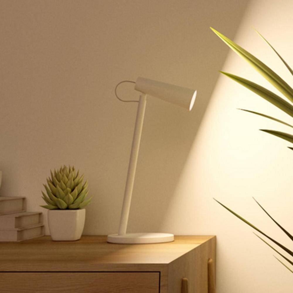 Xiaomi Mijia Mjtd03yl Wireless Usb Rechargeable Led Table Lamp 3 Light Temperture Eyes Care Reading Light