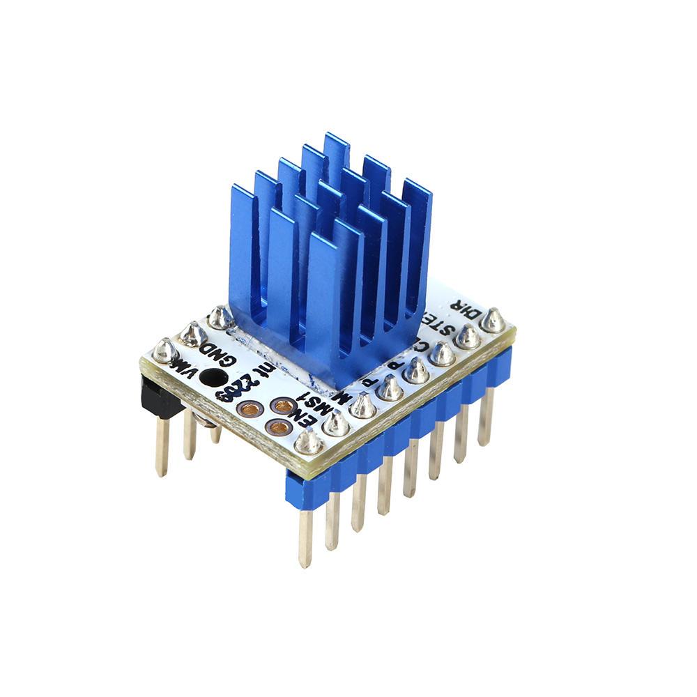 TMC2209 V2.0 Pilotes de moteur pas à pas Super Silent Stepsticks Carte de conducteur de muet 256 Microsteps pour imprimante 3D Sidewinder