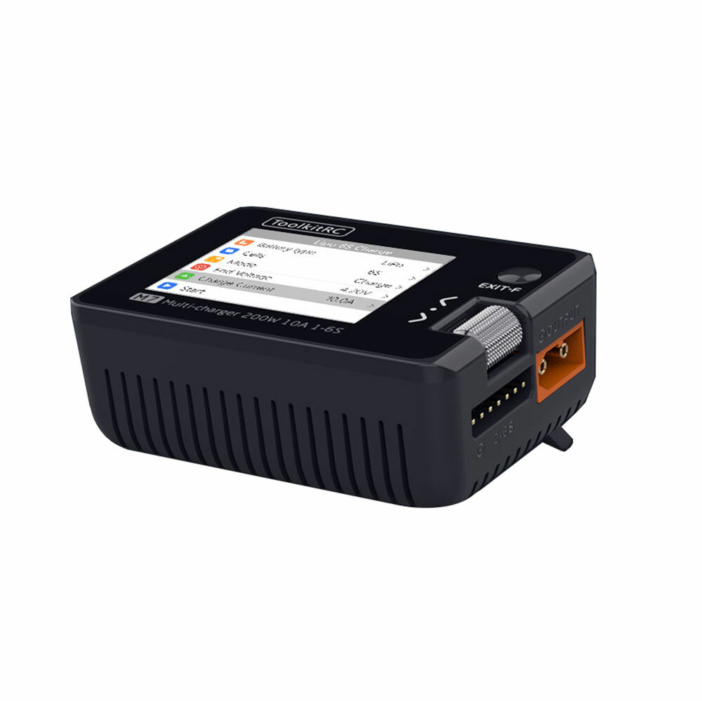 ToolkitRC M7 200W 10A DC 6S Charger Servo/Motor Tester