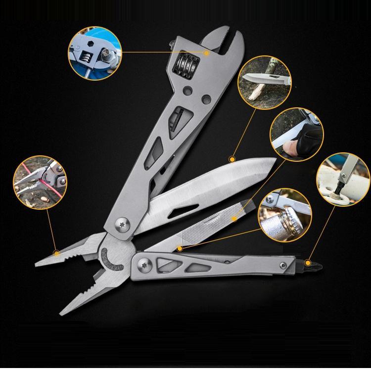 NAITHAWK TC4 78cm Titanium Alloy Mini Folding Knife EDC Utility Knife Hiking Outdoor Survival Tool - 2