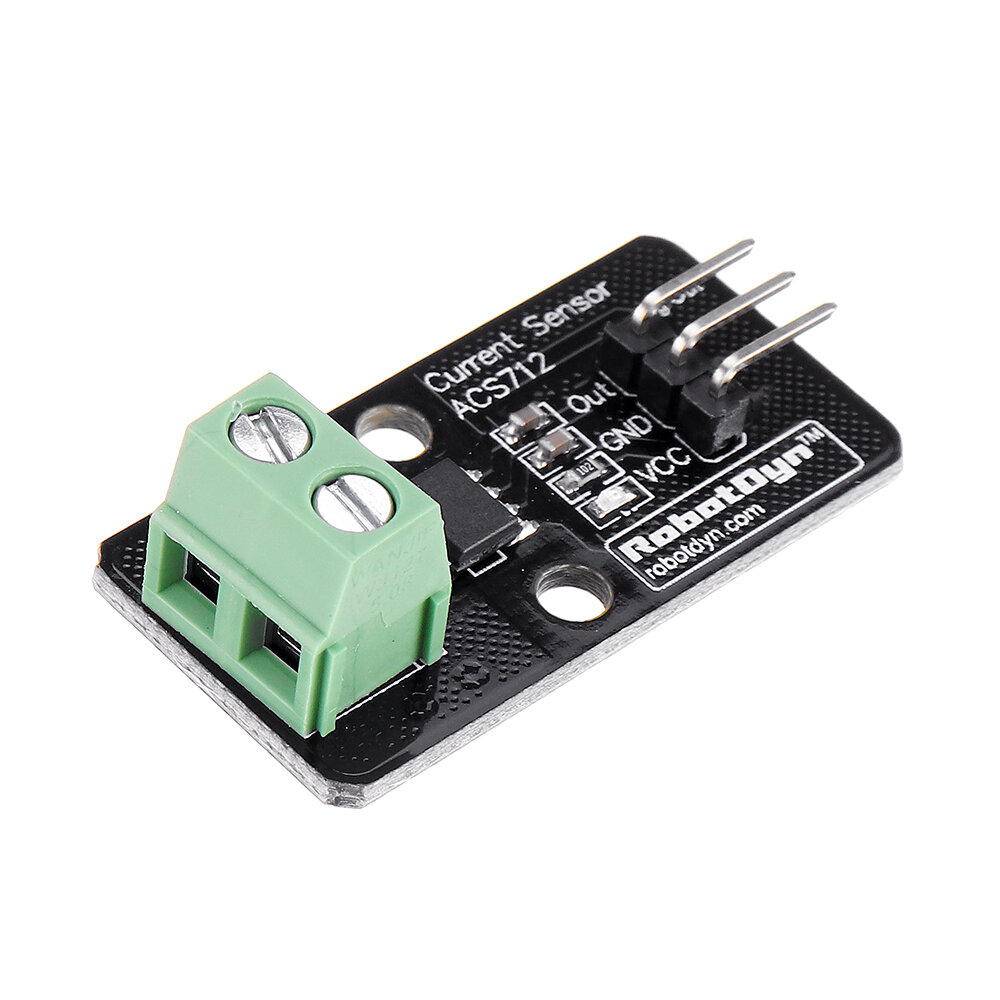 3pcs Current Sensor ACS712 5A Module RobotDyn for Arduino - products that work with official for Arduino boards