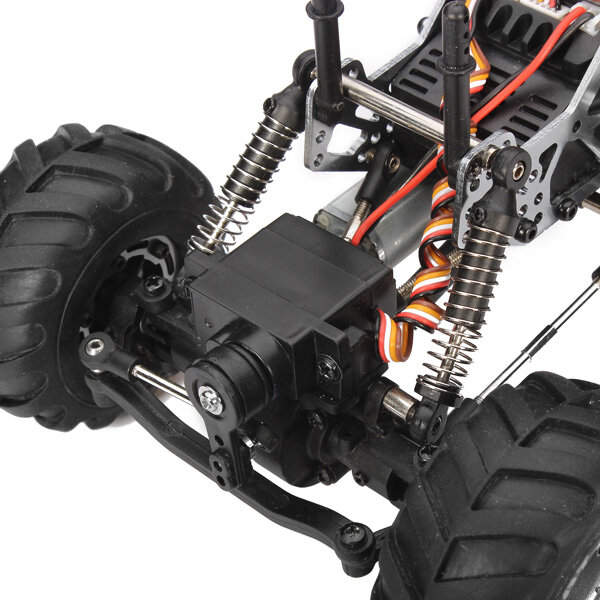Wltoys 144001 1/14 2.4G 4WD High Speed Racing RC Car Vehicle Models 60km/h Two Battery - 8