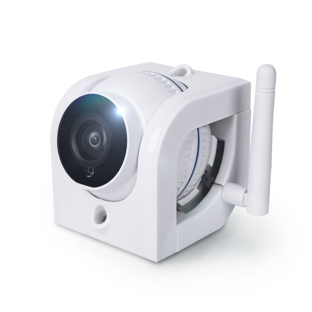 Digoo DG-W02f Cloud Storage 3.6mm Lens 720P Waterproof Outdoor WIFI Security IP Camera Motion Detection Alarm Support Amazon Web Service Onvif Monitor - white