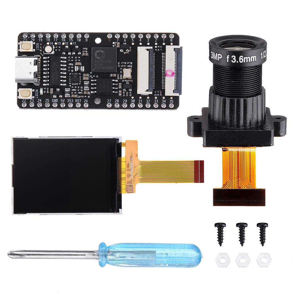 Sipeed Maix-BIT RISC-V Dual Core 64bit CPU Development Board Mini PC + Large Lens + Display Screen Kit