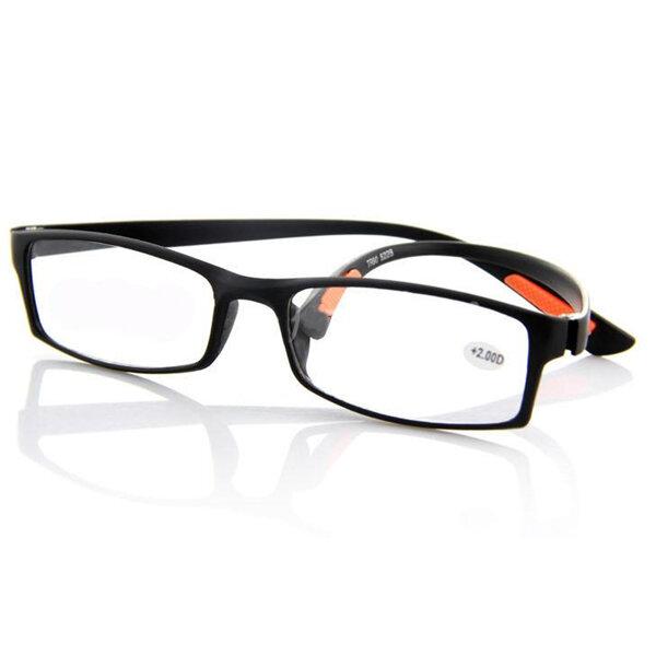 काला TR90 लाइट वेट राल थकान थकान पढ़ने से छुटकारा पाएं चश्मा ताकत 1 1.5 2 2.5 3 3.5