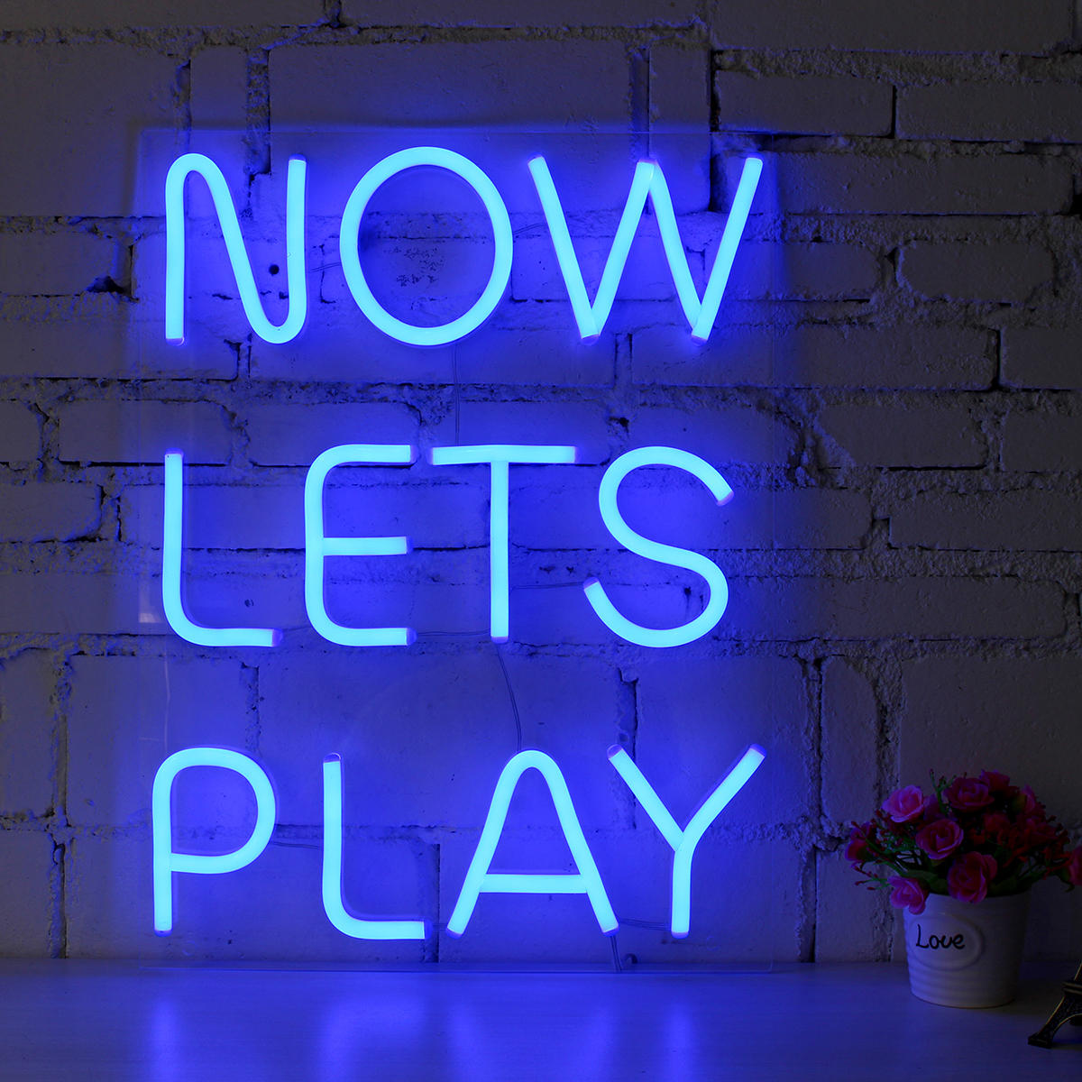 Now Lets Play Neon Sign Led Visual
