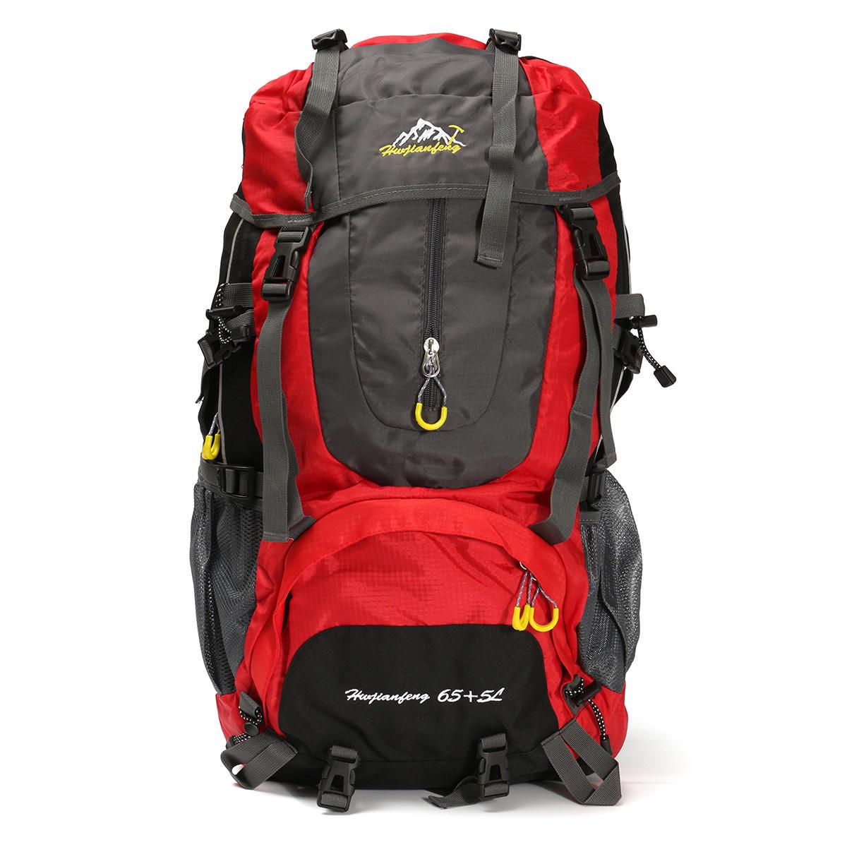 8e9142408df6 Outdoor 70L Waterproof Rucksack Backpack Camping Hiking Trekking Travel  Shoulder Bag Pack