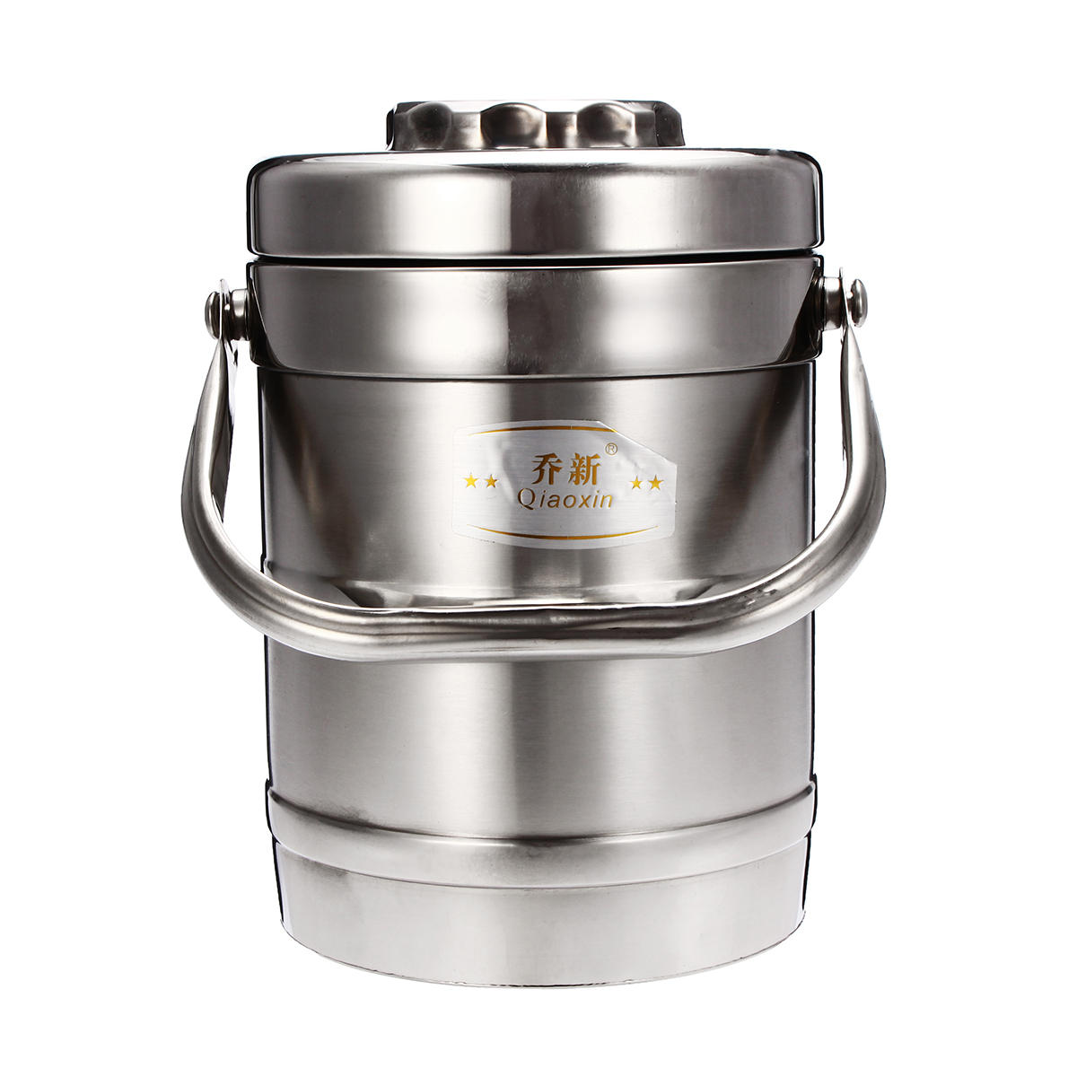 QIAOXIN 1.5/1.9L Stainless Steel Thermal Lunch Box Vacuum Insulated Jar Food Container