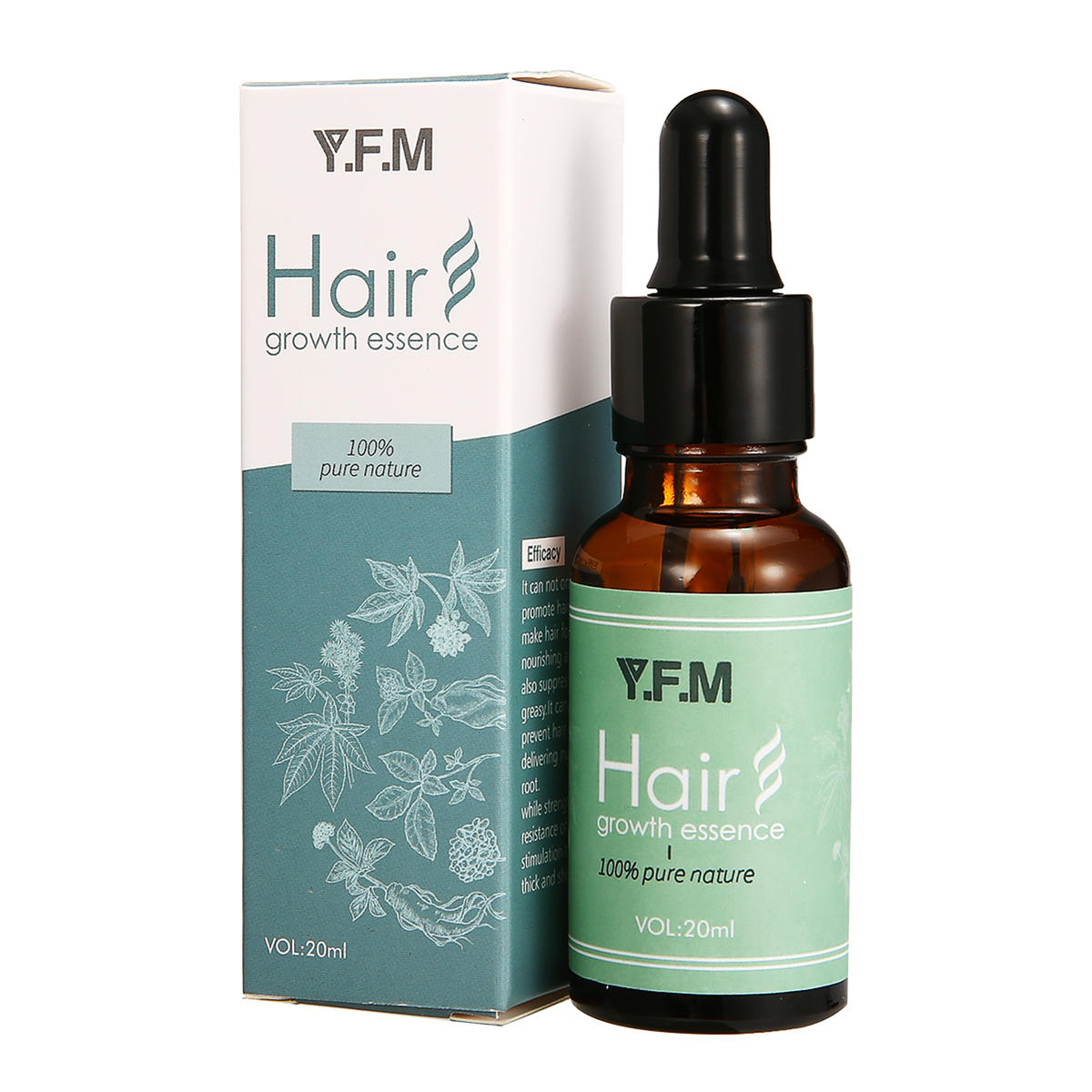 Y.F.M@20ml Hair Growth Essence Prevent Hair Loss Promote Hair Growth Essence Hair Scalp Treatments Serum