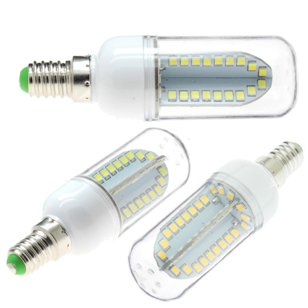 E12 4.2W 3LED Non-dimmable Warm White Light Bulb Base 85-264V - 6