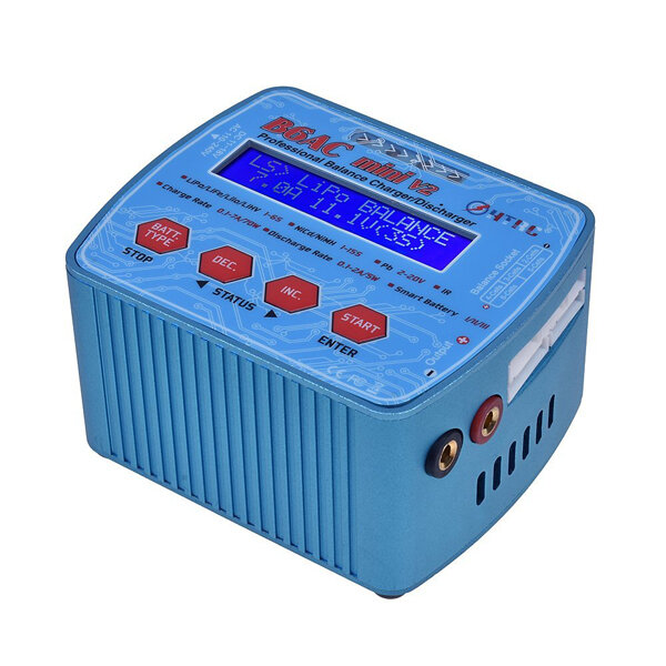HTRC B6AC Mini V2 70W 7A AC/DC Input Professional Lipo Battery Balance Charger Discharger