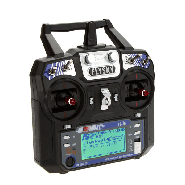 FlySky FS-i6 i6 2 4G 6CH AFHDS RC Radio Transmitter Without Receiver for  FPV RC Drone