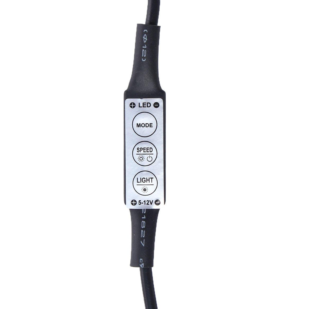 0.5 / 1/2/3/4 / 5M non imperméable à l'eau USB RGB SMD5050 LED Strip Light TV éclairage de fond Kit DC5V - 12