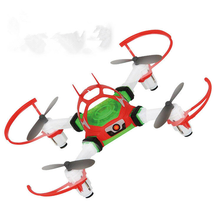 2.4GHZ Multi-functional DIY Intelligent 6 IN 1 RC Quadcopter/Robbot/Buggy/Air Plane/Hover Racer/Tank