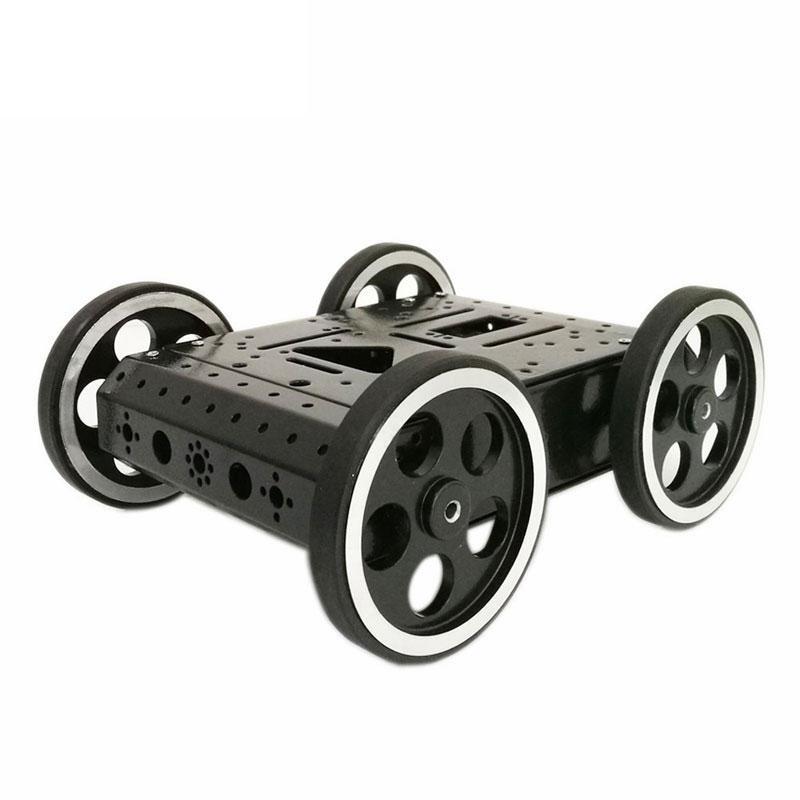 4WD C3 DIY Robot Cerdas Car Chassis Kit Dengan DC 12V Motor untuk