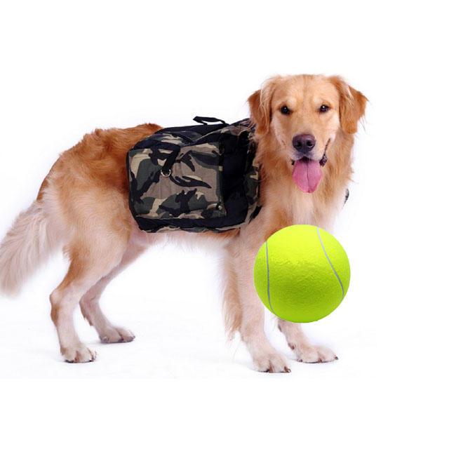 Yani DCT 2 Squishy Giant Tennis Ball Dog Toy Chewing Sport Outdoor Game Throw Run Fetch 24CM - 1