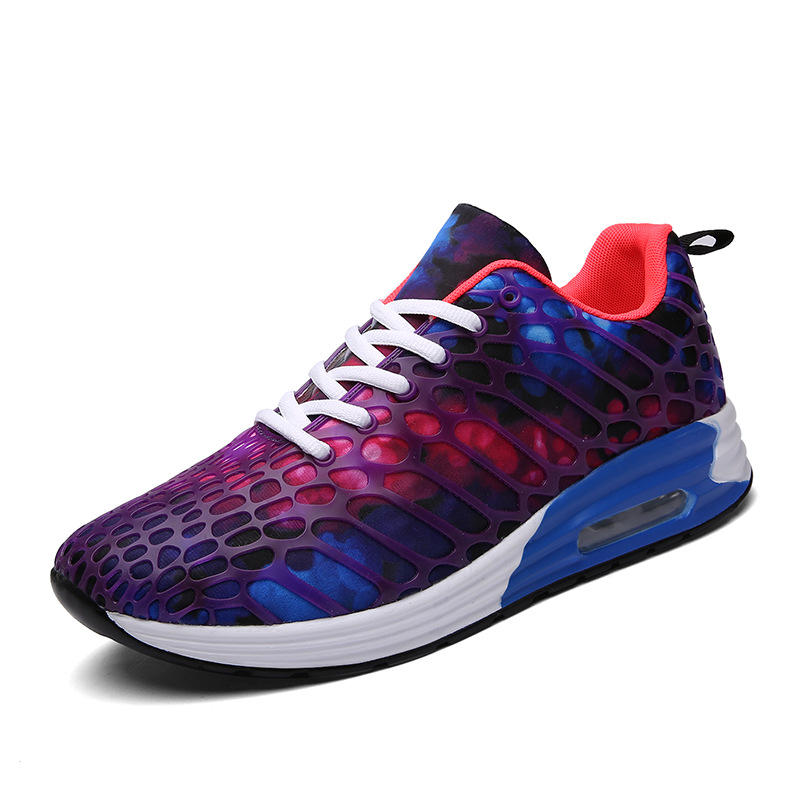 RY-5022 Air Cushion Camouflage Net Casual Men Sneakers Light Comfortable Couple Sport Running Shoes
