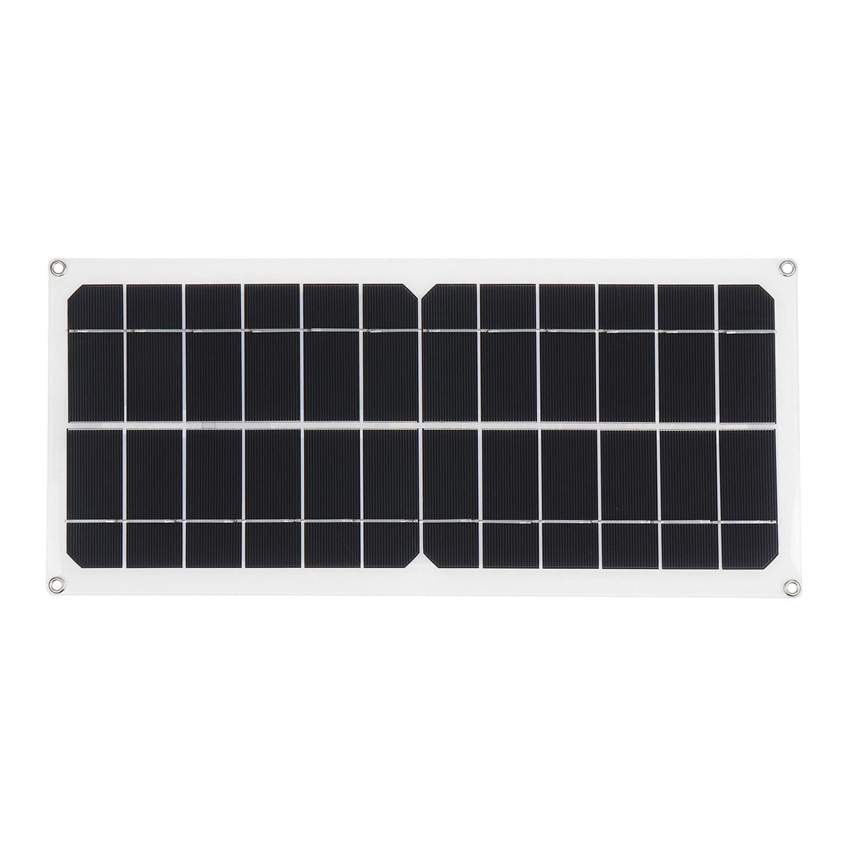 Efficient Solar Powered System 40W Dual USB Ports Solar Panel & 2000W Power Inverter & 10A Controller - 4
