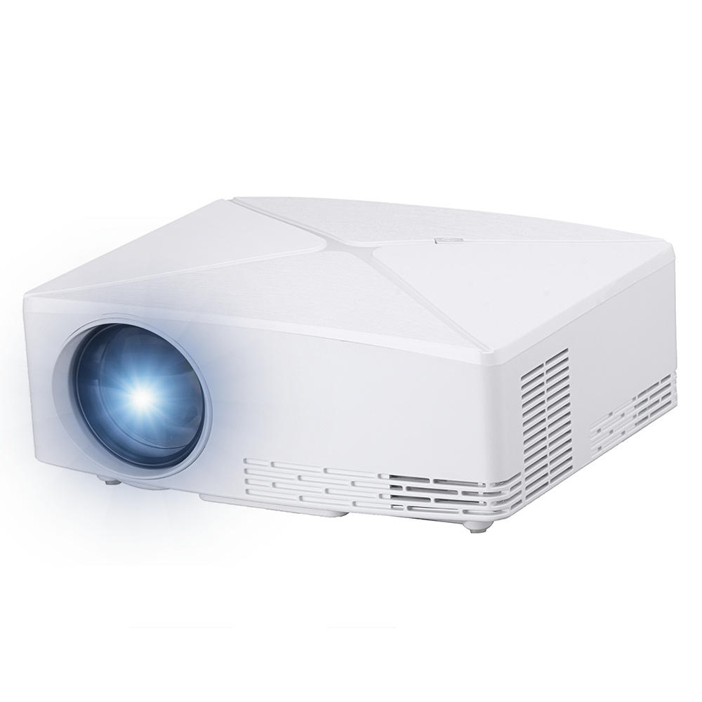VIVIBRIGHT HD MINI Projector C80 1280x720 Video Proyector, Support 1080P- White