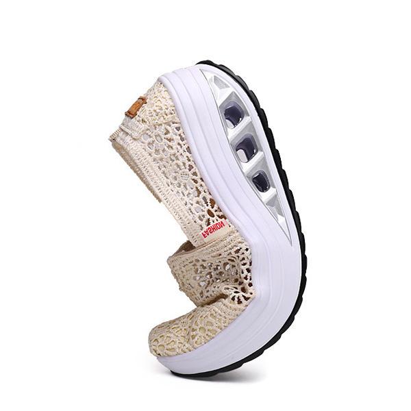 Casual Mesh Breathable Walking Sneakers - 5