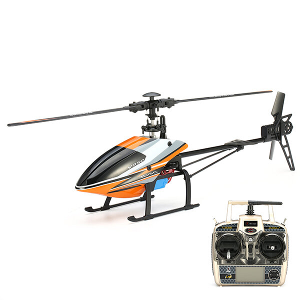 Eachine E160 6CH Dual Brushless 3D6G System Flybarless RC Helicopter RTF Compatible with FUTABA S-FHSS - 1