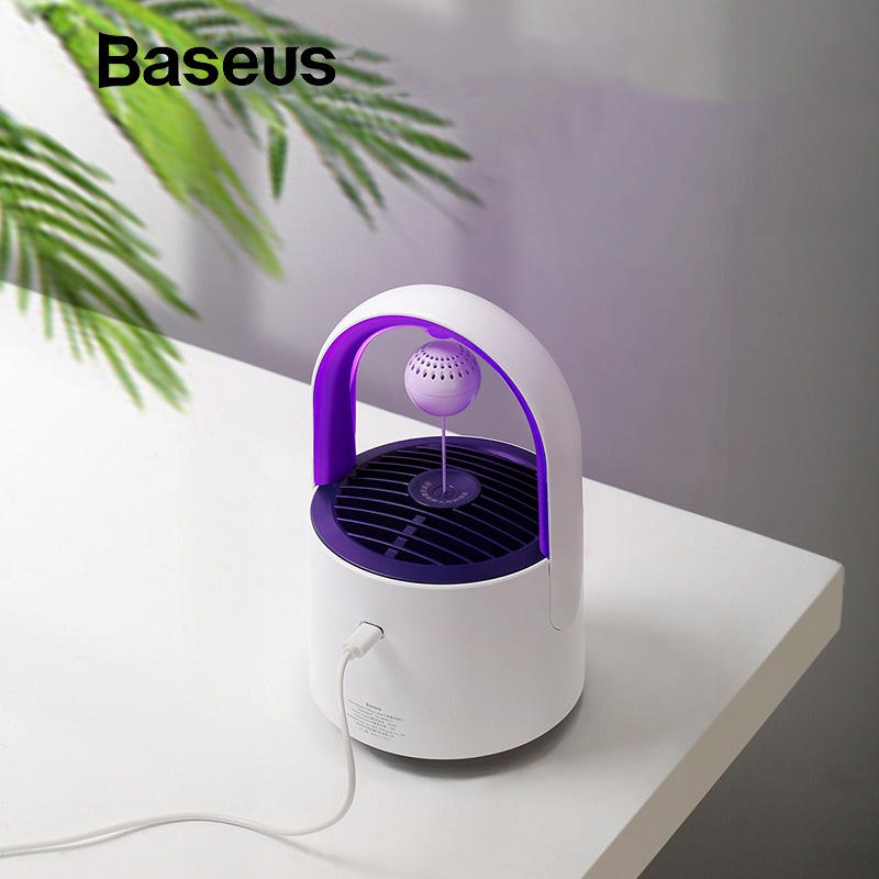 Baseus USB Light Electric Mosquito Dispeller Sticker LED Bug Zapper Mosquito Killer Lamp Lamp Insect Trap Home Pest Control