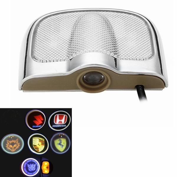 Motorcycle Auto Ghonst Shadow LED Laser Projector Welcome Light, Banggood  - buy with discount