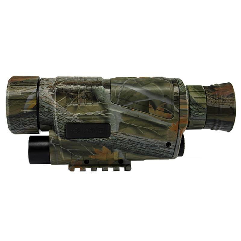 MaiFeng PJ2-0532 5X HD Digital Night vision Photo Video Recording Infrared Binocular - 1