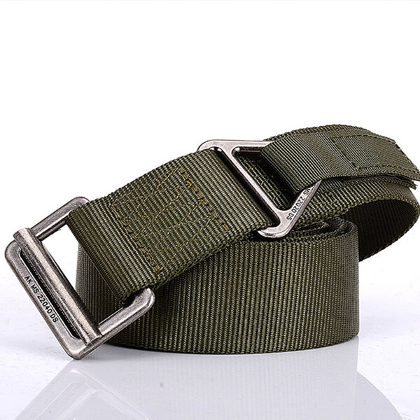 125CM ENNIU Mens Nylon Tactical Belt Outdoor Sport Quick Release Weave  Military Belts
