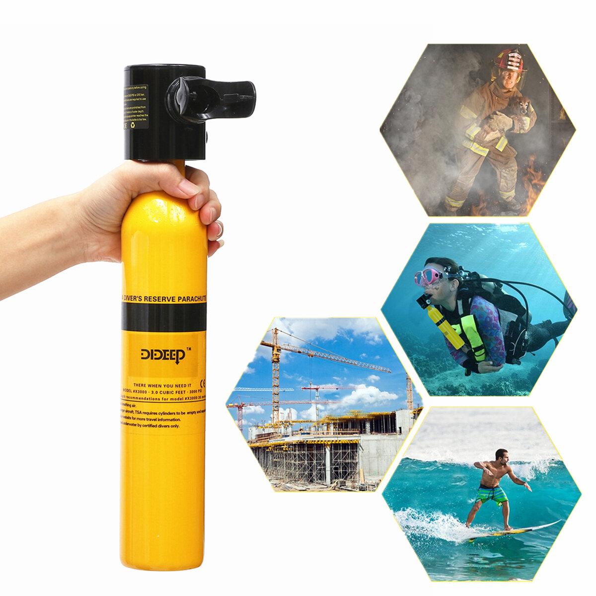 Oxygen Tank For Sale >> Oxygen Cylinder Diving Mini Scuba Cylinder Oxygen Tank Underwater Breath Equipment
