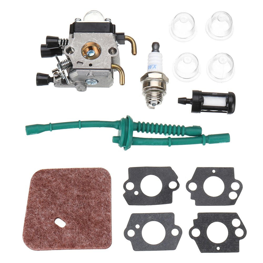 stihl fuel filter carburetor carb kit for stihl fs38 fs45 fs46 fs55 km55 fs85 air  stihl fs38 fs45 fs46 fs55 km55 fs85 air