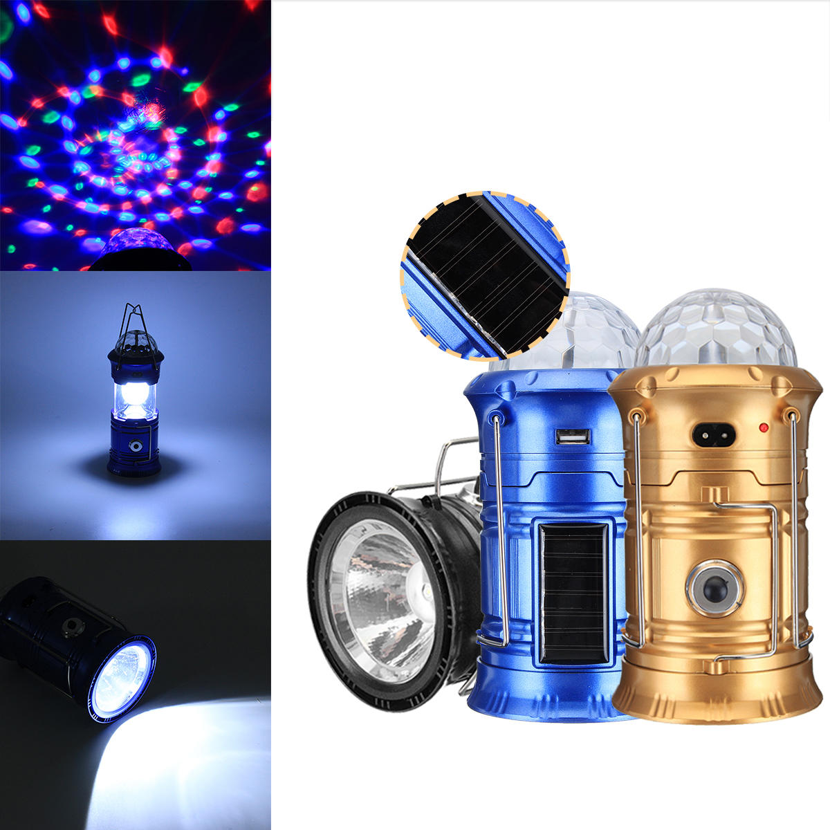 3 In 1 Portable Camping Tent Led Stage