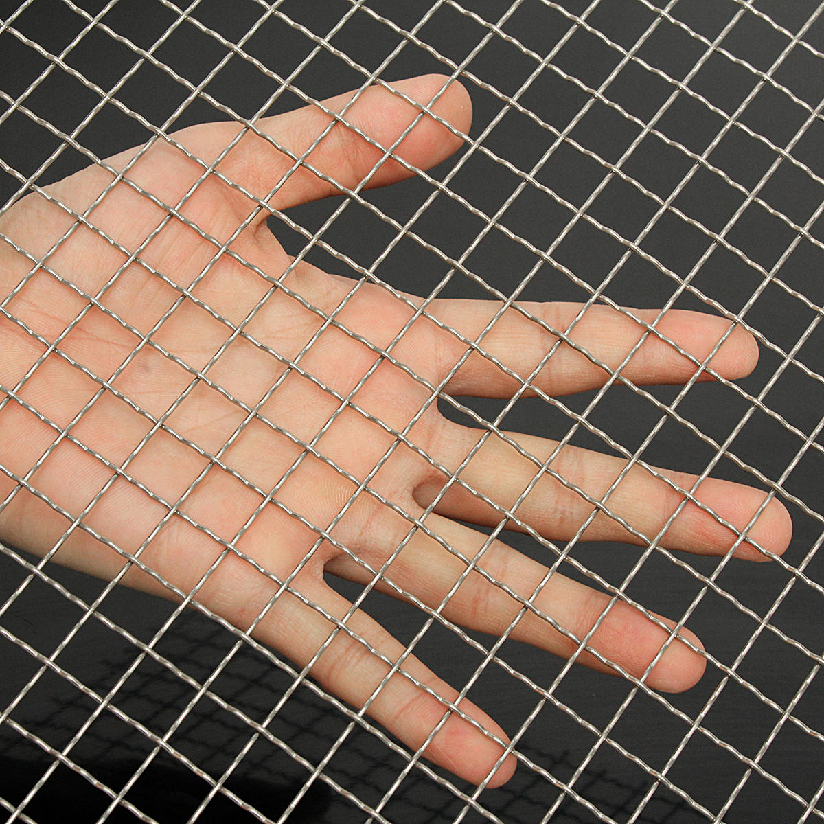 30cmx30cm 2 Mesh Stainless Steel Wire Cloth Screen Filtration Filter Sheet