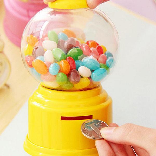 Honana HN B56 Kleurrijke Candy Storage Box Classic Candy Machine Spaarpot Kids Gift Room Decoration - 3