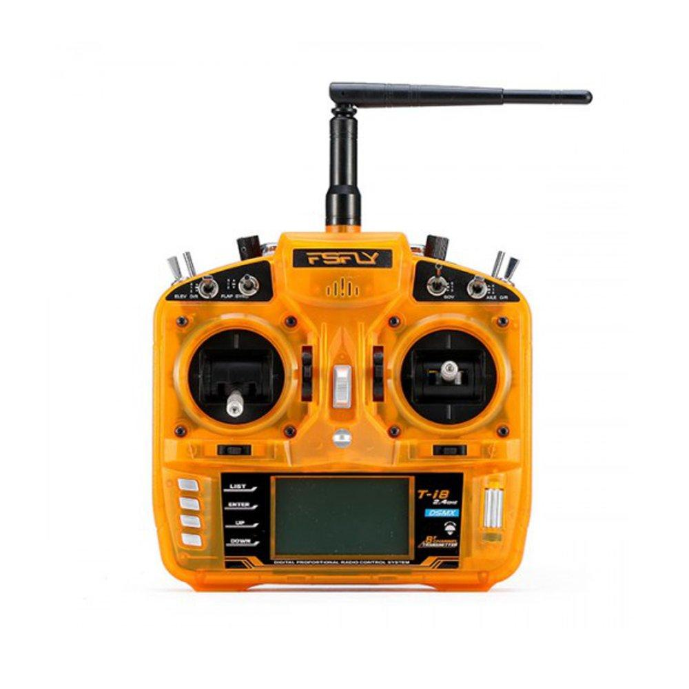 FsFly T-i8 2.4GHz 8CH RC Transmitter Remote Control Compatible DSM2 DSMX For RC Models