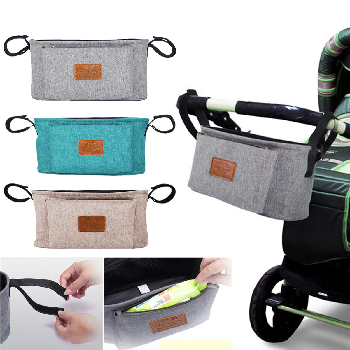 Baby Stroller Sunshade Canopy Cover For Prams Universal Car Seat Buggy Pushchair Cap Sun Hood Stroller Accessories - 2