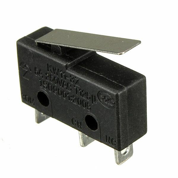 10uds Interruptor Táctil de 3 Pin 5A 250V Interruptor Sensible Manija de Interruptores Micro KW11-3Z Interruptor de Límite