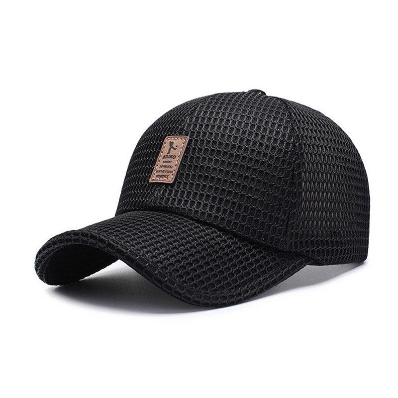 Cotton Sunshade Mesh Baseball Cap Outdoor Casual Breathable Adjustable Sports Visor Hat