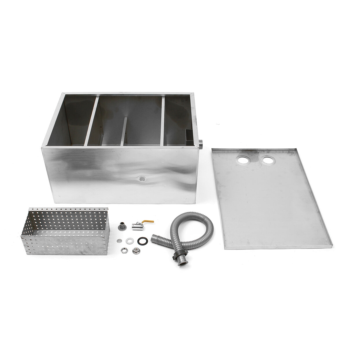 Grease Trap For Sale >> 5l Stainless Steel Grease Trap Interceptor Commercial Interceptor Grease Trap