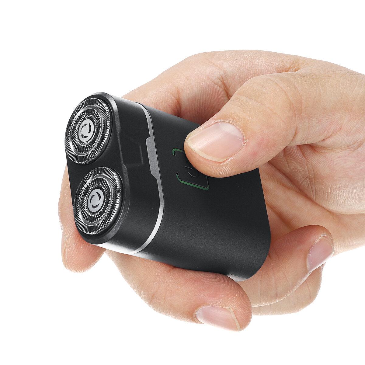 Kemei Mini Waterproof Electric Shaver German Technology Razor Rechargeable Men Hair Shaver