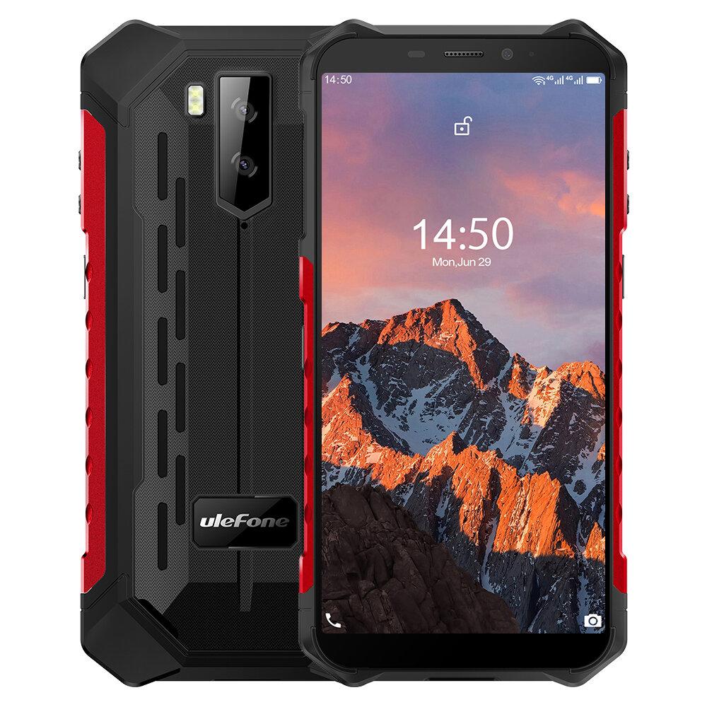 Ulefone Armor X5 Pro 5.5インチNFC IP68 IP69K防水4GB RAM 64GB ROM 5000mAh MT6762 Octa Core 4G頑丈なスマートフォン