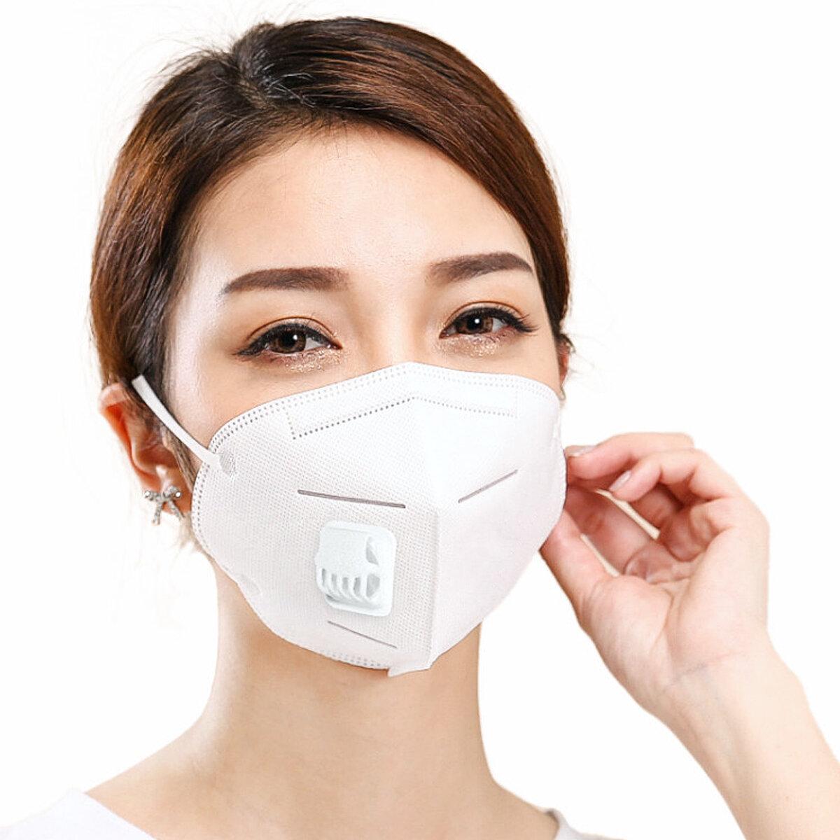 Deney Sis us 34 Vanası Patojen amp; Endüstriyel Laboratuvar Anti-virüs From Bilimsel Maske Araç Malzemeleri 4 Geçirmez Toz Katmanlı N95 Solunum 3
