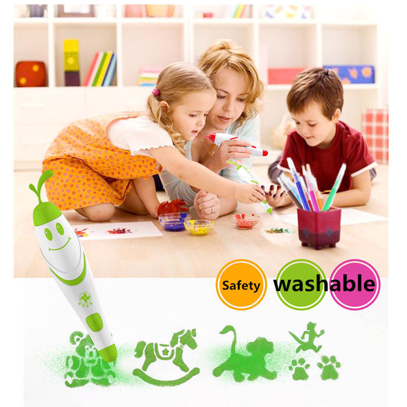 Creative Stationery Color Crayon 20 Color Children Safe Non-toxic Painting Graffiti Pen Gift - 2